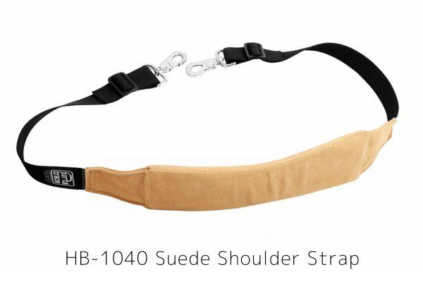 HB-1040 Suede Shoulder Strap