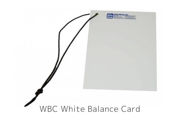 WBC White Balance Card